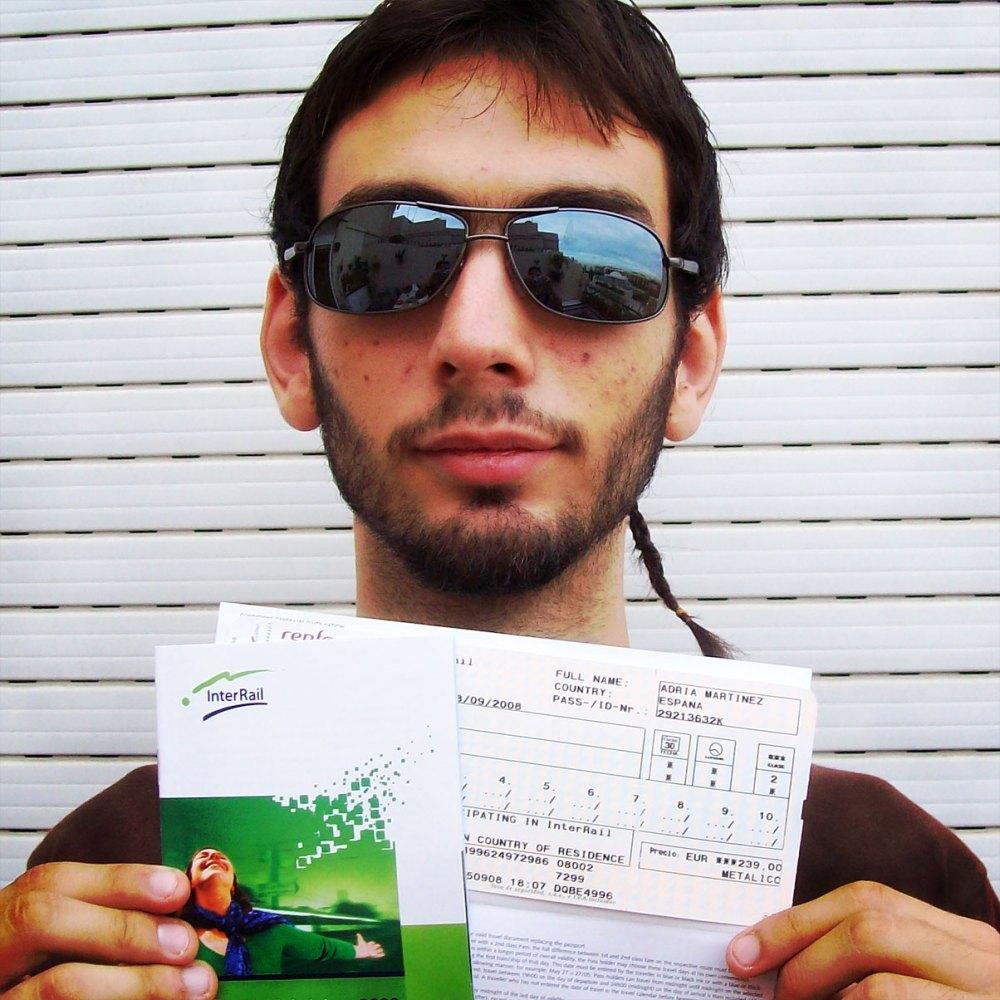 me & my tiket